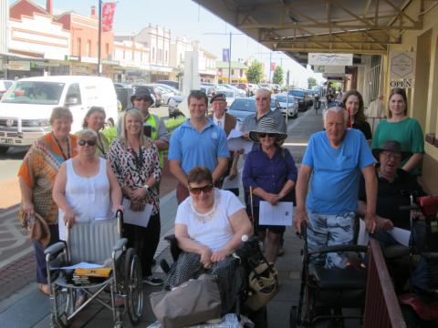 Disability Inclusion Walk for people with Visual Impairment 2016
